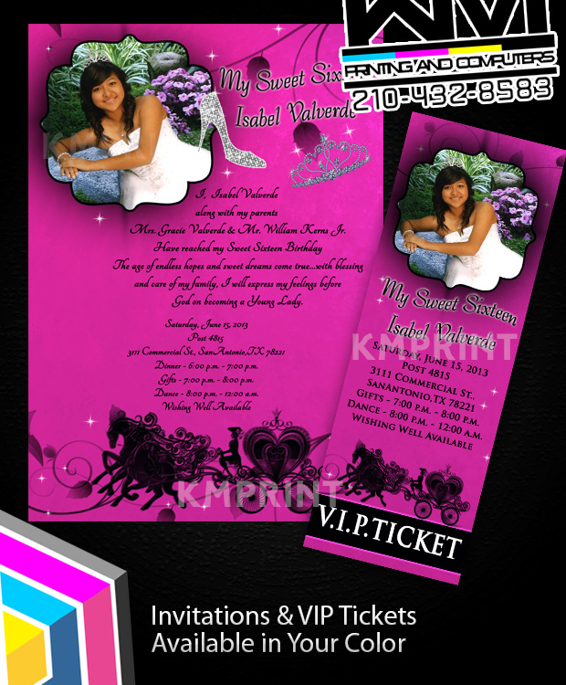 Sweet 1516 Invitations Quinceera Invitations 15th Birthday on Luulla